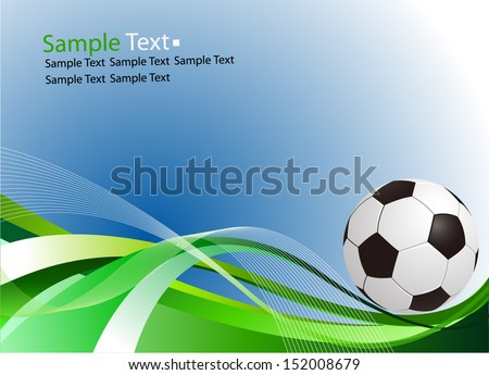 sample text football ball