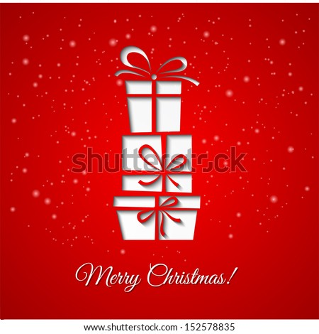 Free Christmas Greeting Card Template Free Vector Download 29 606