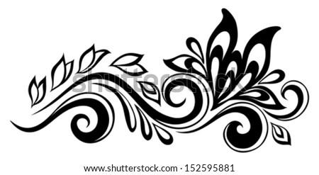 Simple Flower Designs Patterns
