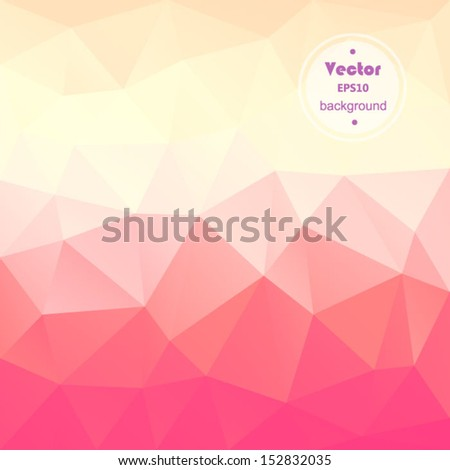 vector pink modern geometric