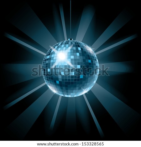 disco ball background for music