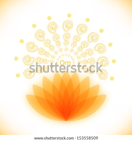 shiny image with lotus