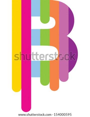 stripe letter