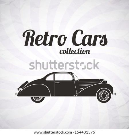 retro car  vintage collection