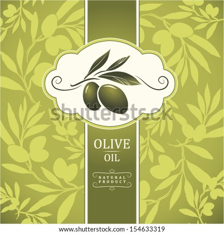 vector olive oil decorative