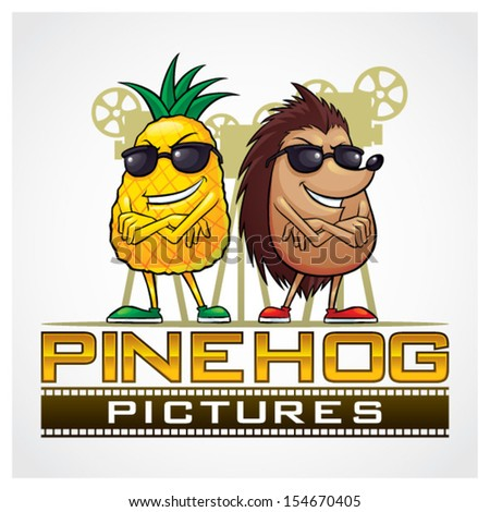 pine hog pictures pineapple and