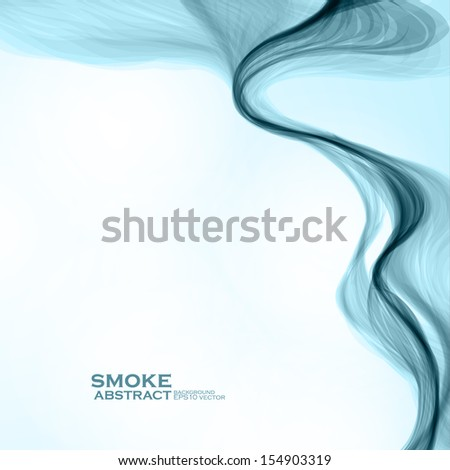 blue smoke background abstract