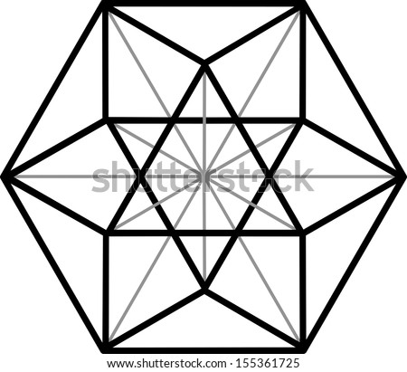 cuboctahedron  vector