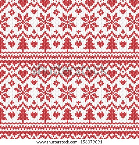 Vector Snowflake Sweater Pattern Free Vector Download 19968 Free