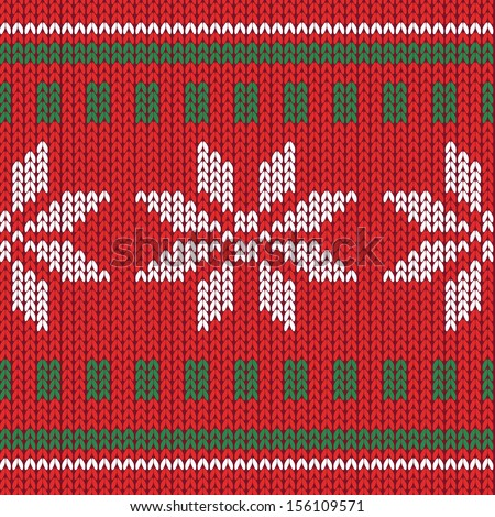 Snowflake Knitting Pattern Vector Free Vector Download 19977 Free