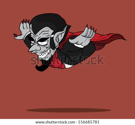 dracula vector and illustration