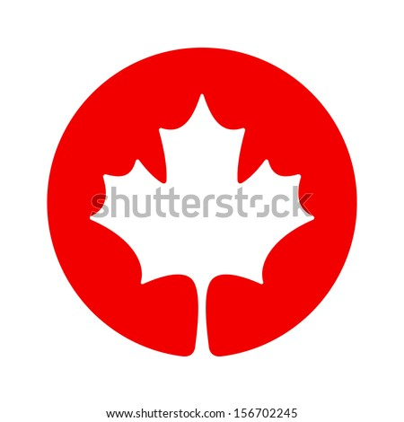 canada maple icon