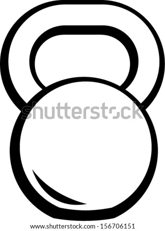 Vector Images, Illustrations and Cliparts: kettlebell ...