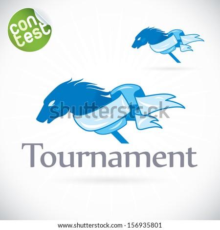 tournament illustration  sign