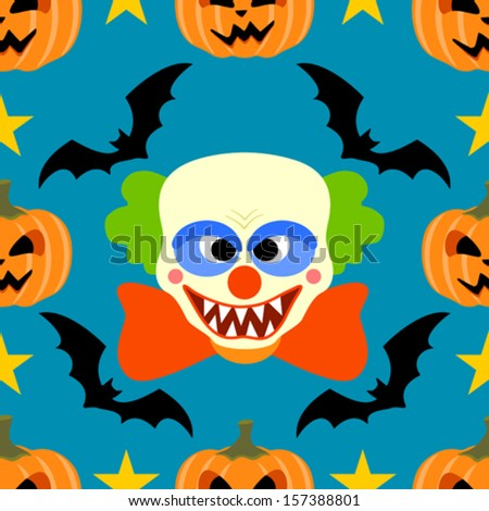 halloween background seamless