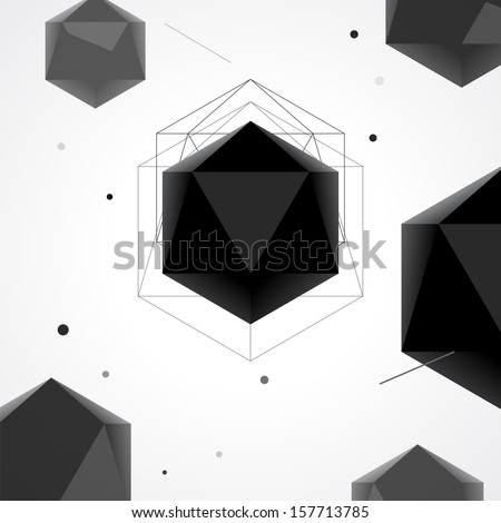 polygon abstract geometrical