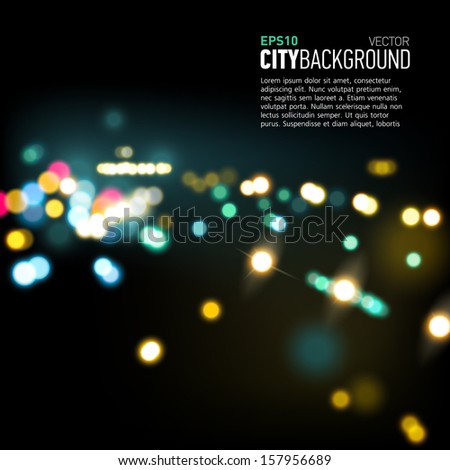 abstract city background with