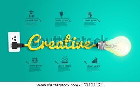 creative concept modern design