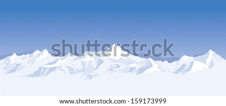 mountain range background
