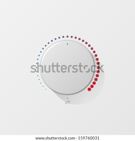 vector volume button