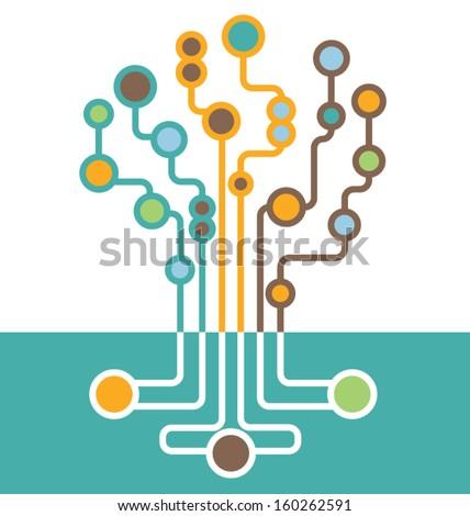 abstract tech tree