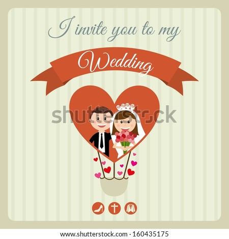 wedding design over lineal