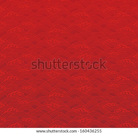 seamless ocean wave pattern