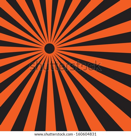vector background sun rays on