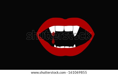 vampire mouth