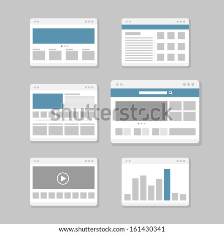 web site page templates