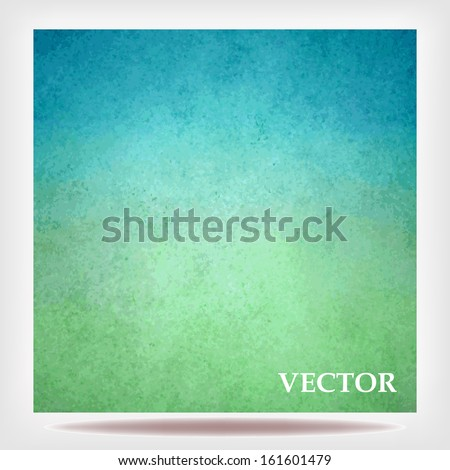 sky blue green background