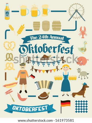 oktoberfest retro creation kit
