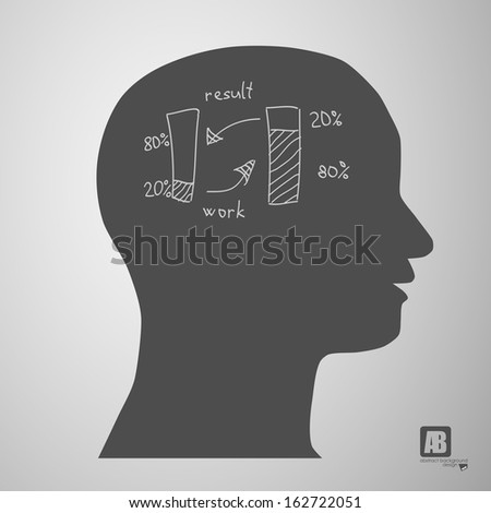 man head silhouette