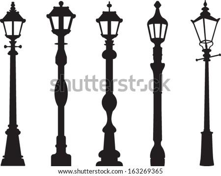 Street light pole vector free vector download (7,882 Free vector ...