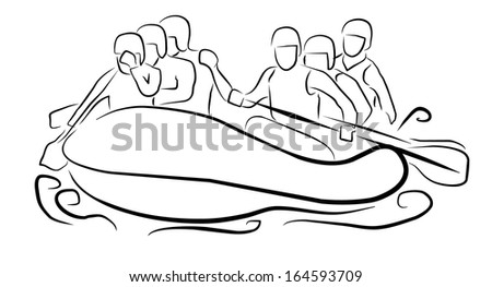 Whitewater Rafting Free Vector Download 5 Free Vector For