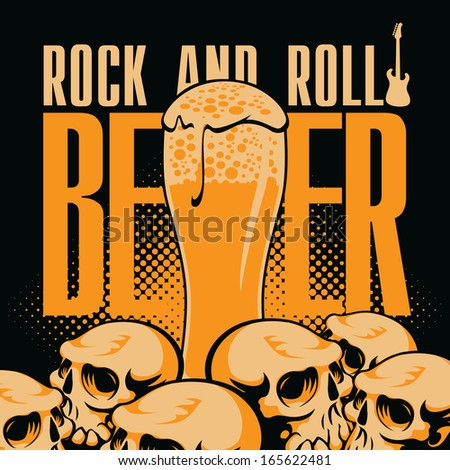 banner beer and rock 'n' roll
