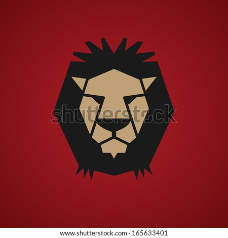 lion symbol  vector illustration