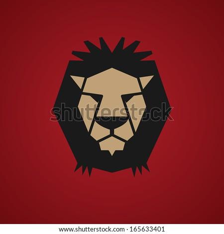 lion symbol  vector illustration