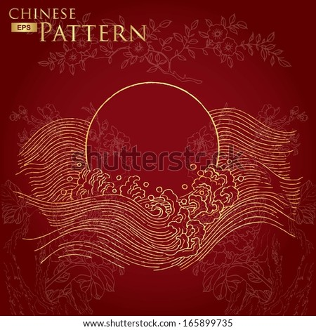 chinese wave pattern