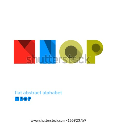 modern simple abstract colorful