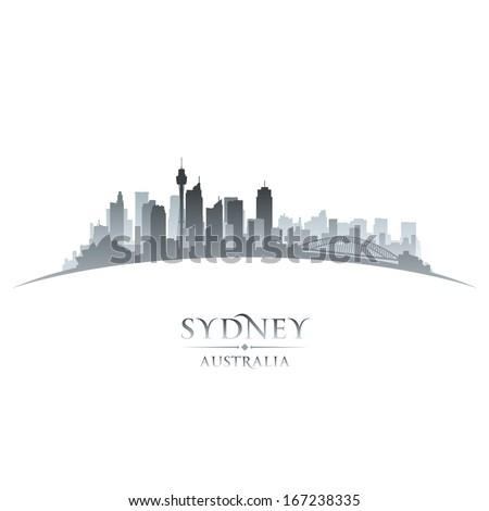 sydney australia city skyline
