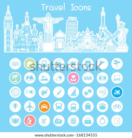 icons  travel info