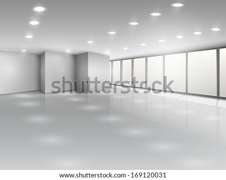 light conference room or office