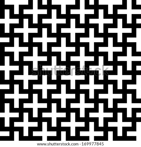 seamless cross pattern