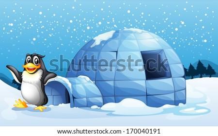 illustration of a penguin