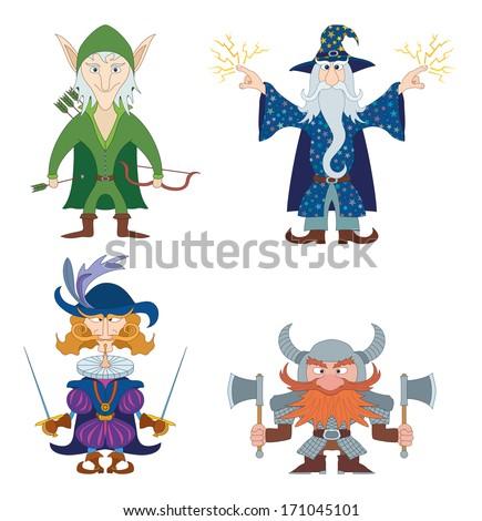 fantasy brave heroes  elf