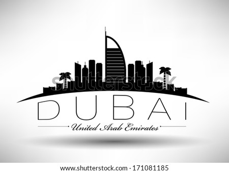 modern dubai city skyline design