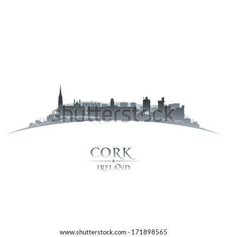 cork ireland  city skyline