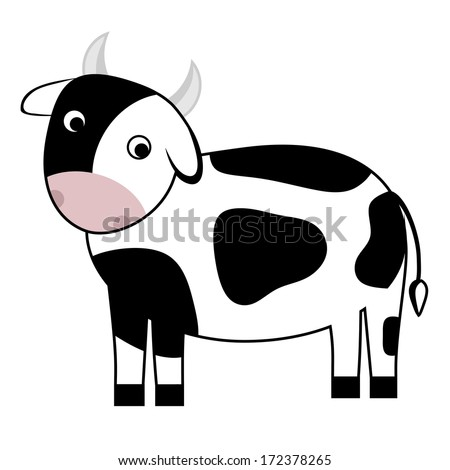 Black angus cow clip art free vector download (210,594 Free vector ...