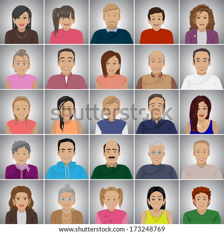 people of different ages